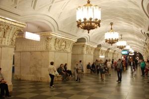 Moskau Metro Prospekt Mira