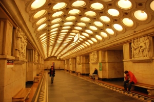 Moskau Metro Elektrozavodskaya
